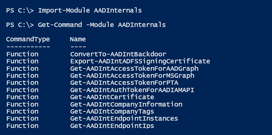 AADInternals published!