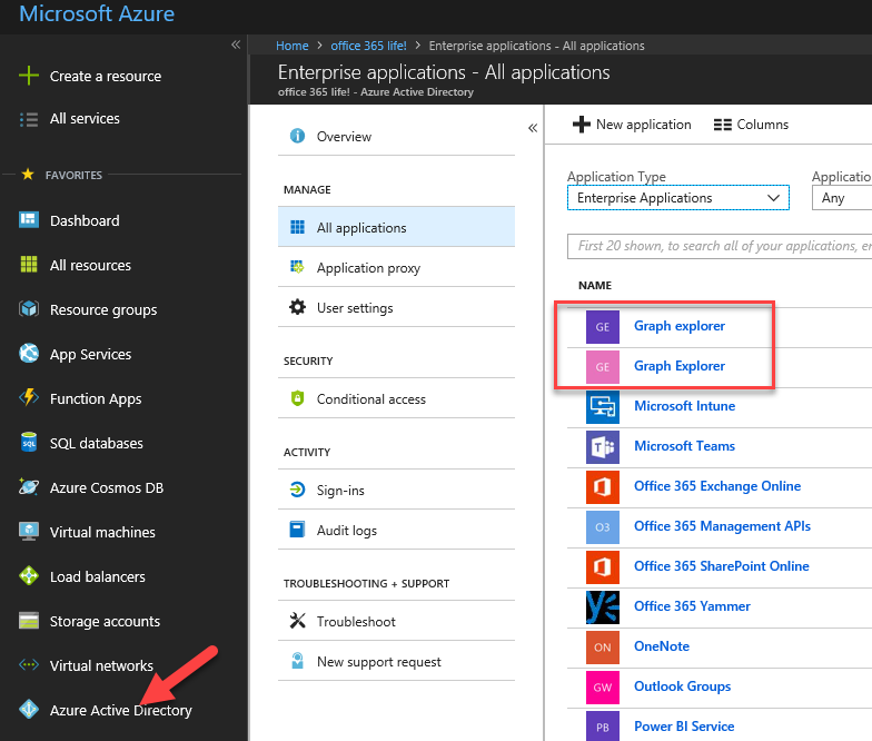Block user access to Azure AD PowerShell and Graph API Explorer